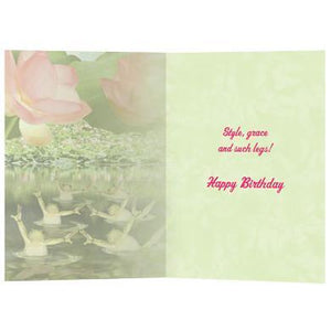 Style & Grace Birthday Greeting Card 6 pack