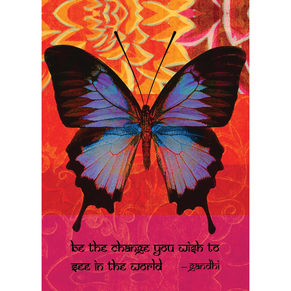 Be The Change All Occasion Greeting Card 6 pack
