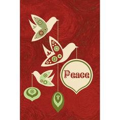Load image into Gallery viewer, Peace This Season  Holiday Greeting Card 4 pack