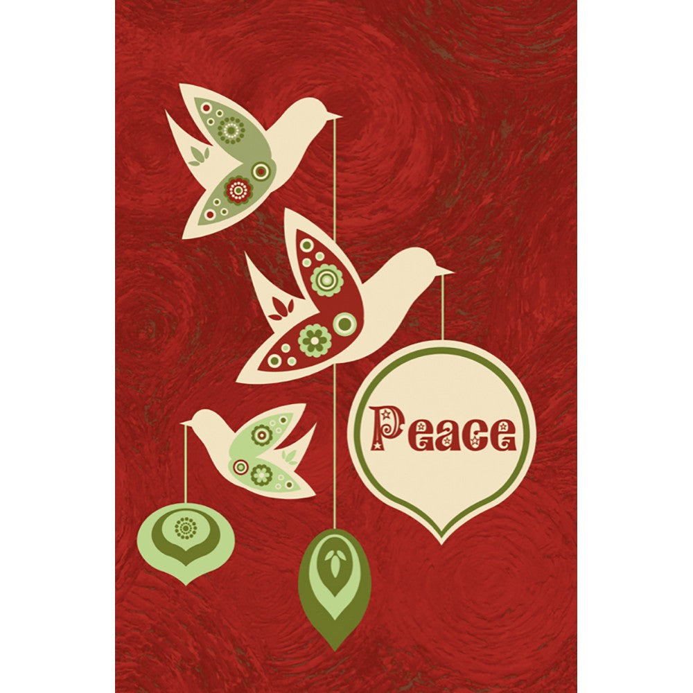 Peace This Season  Holiday Greeting Card 4 pack