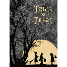 Load image into Gallery viewer, Trick Or Treat Halloween Greeting Card 4 pack