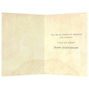 Spirit Of Love Anniversary Greeting Card 6 pack