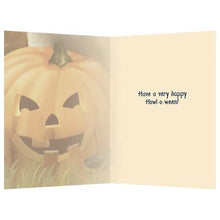 Load image into Gallery viewer, Count Dogula Halloween Greeting Card 4 pack