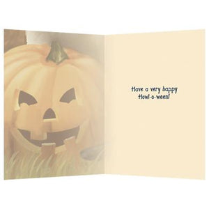 Count Dogula Halloween Greeting Card 4 pack