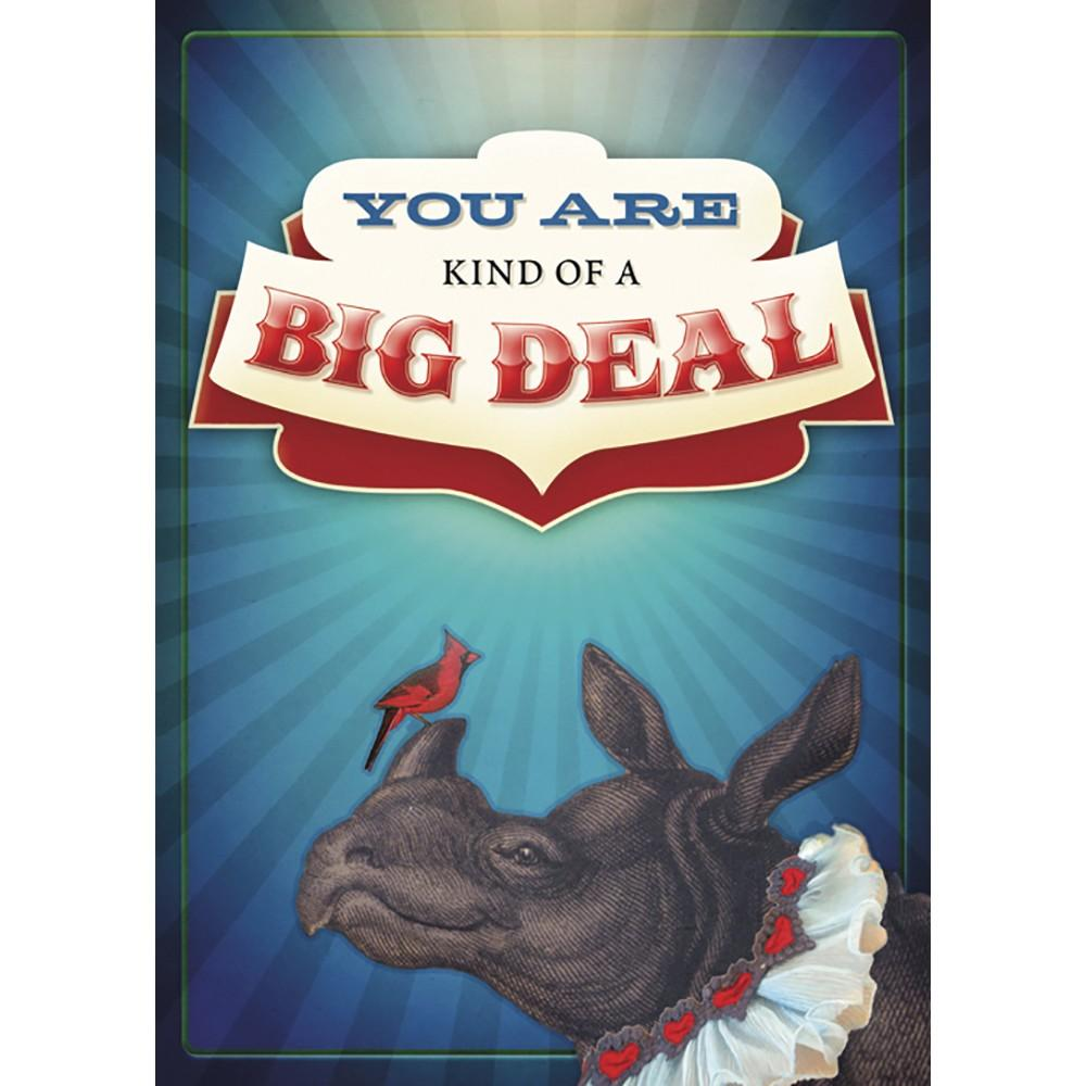 Big Deal Birthday Greeting Card 6 pack