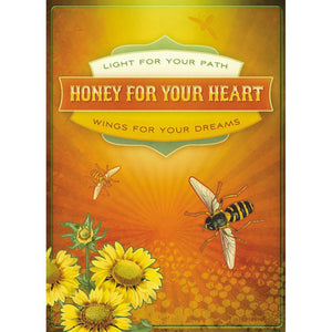 Honey For Your Heart Birthday Greeting Card 6 pack