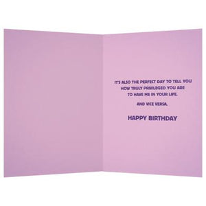 Perfect Day To Thank Me Greeting Card