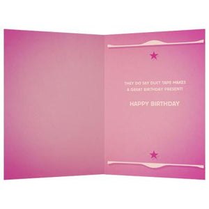 Real Friends Birthday Greeting Card 6 pack