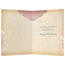 Load image into Gallery viewer, Smiles Begin With You Birthday Greeting Card 6 pack