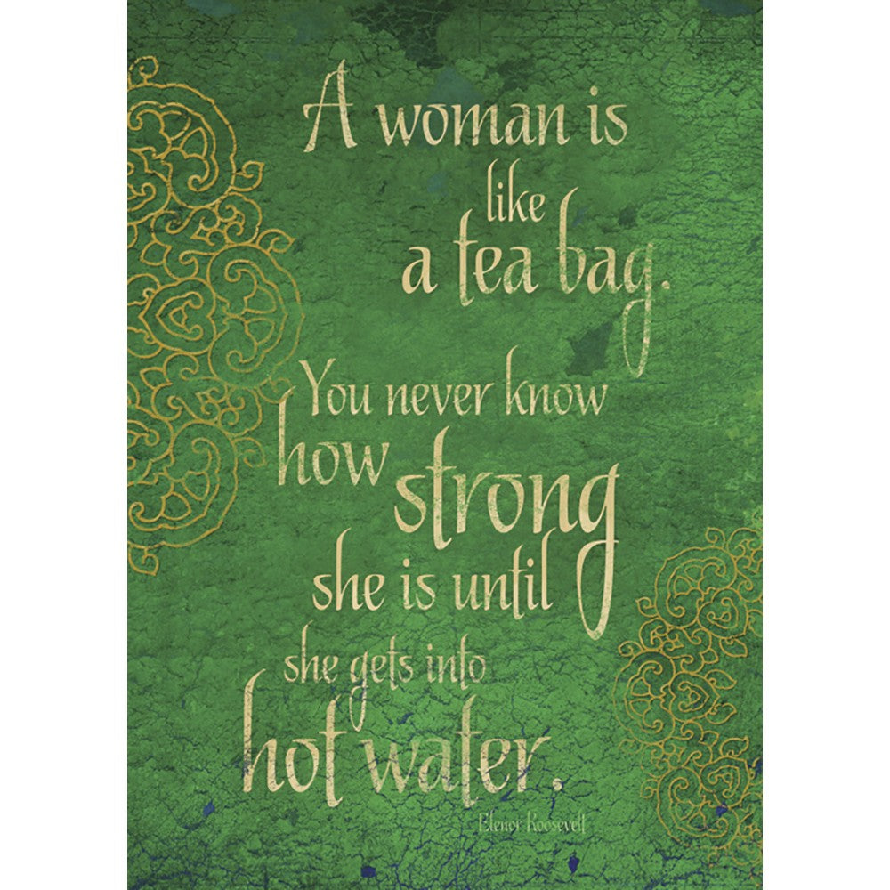 Strong Woman All Occasion Greeting Card 6 pack