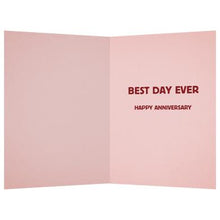 Load image into Gallery viewer, The Day You And I Anniversary Greeting Card 6 pack
