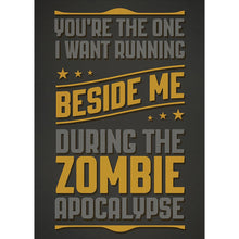 Load image into Gallery viewer, Zombie Apocalypse Friendship Greeting Card 6 pack