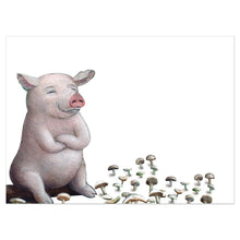Load image into Gallery viewer, Pig In Shitakes Birthday Greeting Card 6 pack