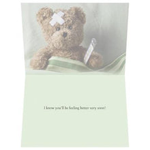 Load image into Gallery viewer, Sick And Tired Get Well Greeting Card 6 pack