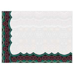 Sugar Skull Paisley All Occasion Greeting Card 6 pack