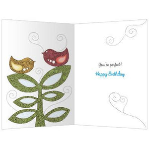 Perfect Age Birthday Greeting Card 6 pack