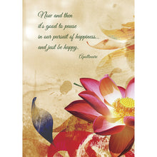 Load image into Gallery viewer, Happiness Dragonfly Farewell Greeting Card 6 pack