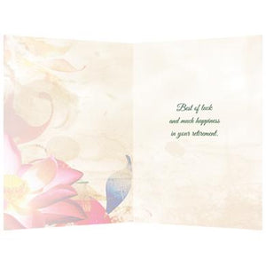 Happiness Dragonfly Farewell Greeting Card 6 pack