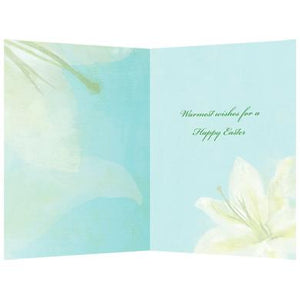 Warm Easter Wishes Easter Greeting Card 4 pack