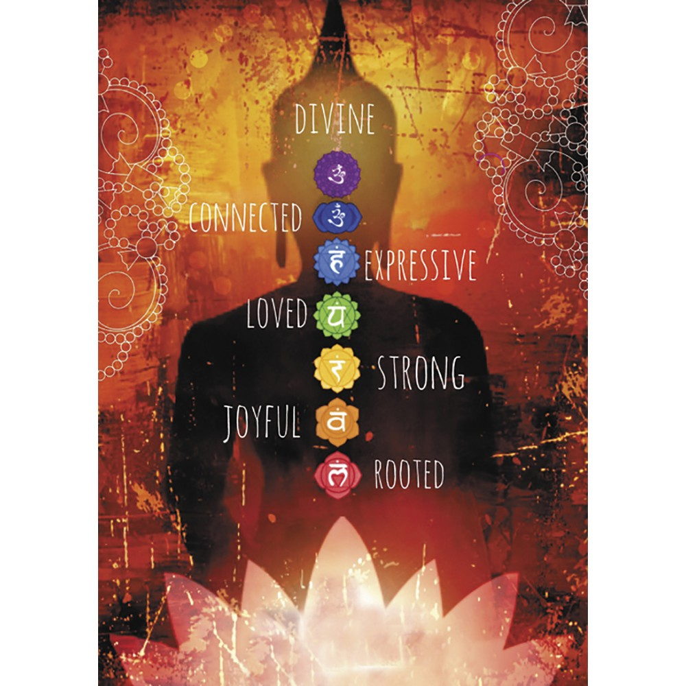 Divine Connected Strong All Occasion Greeting Card 6 pack