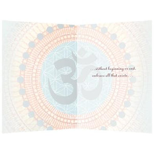 All Embracing Om All Occasion Greeting Card 6 pack