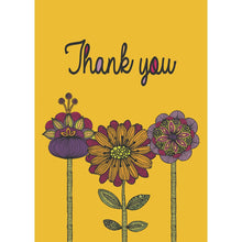 Load image into Gallery viewer, Abundant Thanks Thank You Greeting Card 6 pack
