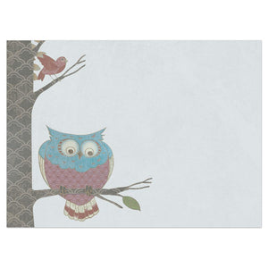 Whimsical Owl Birthday Birthday Greeting Card 6 pack