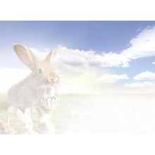Load image into Gallery viewer, Easter Bunnies Easter Greeting Card 4 pack