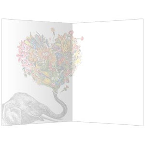 Love Elephant Love Greeting Card 6 pack