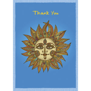 Sunny Thanks Thank You Greeting Card 6 pack