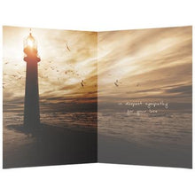 Load image into Gallery viewer, Light So Bright Sympathy Greeting Card 6 pack