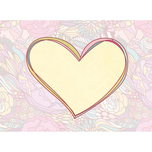 Vibrant Mom Valentine Valentine's Day Greeting Card