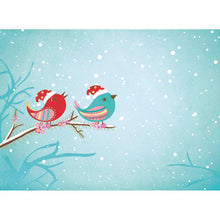 Load image into Gallery viewer, Tweet Christmas  Christmas Greeting Card 4 pack