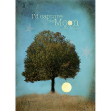 Load image into Gallery viewer, Capture The Moon Friendship Greeting Card 6 pack