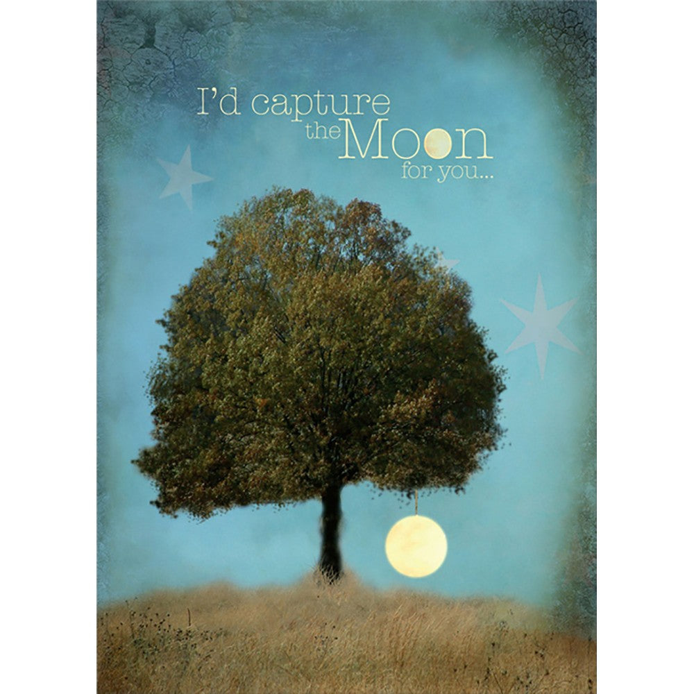Capture The Moon Friendship Greeting Card 6 pack