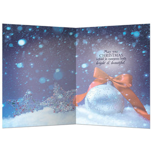 Behold Christmas  Christmas Greeting Card 4 pack