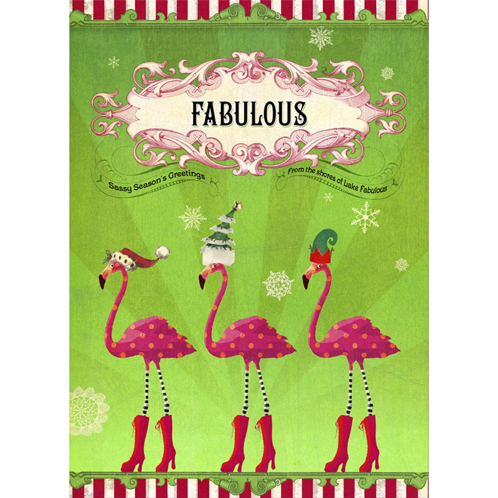 Fabulous Holidays  Holiday Greeting Card 4 pack