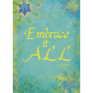 Embrace It All Birthday Greeting Card 6 pack