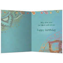 Load image into Gallery viewer, Life Is Unfolding Birthday Greeting Card 6 pack