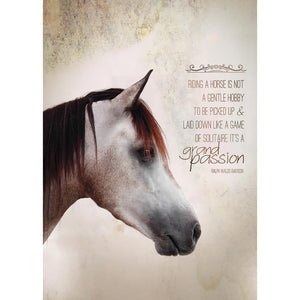 Grand Passion Greeting Card