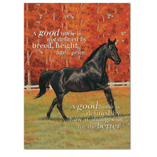Load image into Gallery viewer, A Good Horse Greeting Card