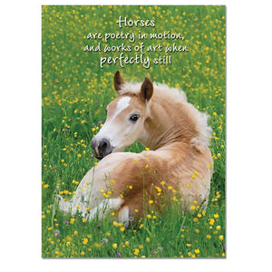 Poetry In Motion Greeting Card