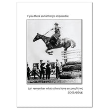 Load image into Gallery viewer, Side Saddle Greeting Card
