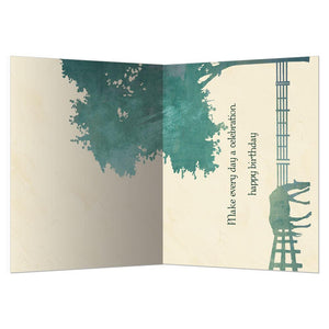 Silent Strength Birthday Greeting Card 6 pack