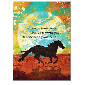 Wind In Your Hair Birthday Greeting Card 6 pack