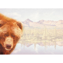 Load image into Gallery viewer, Smiling Grizzly Greeting Card