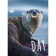 Load image into Gallery viewer, Smiling Otter Greeting Card