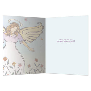 Blessed With Courage Greeting Card