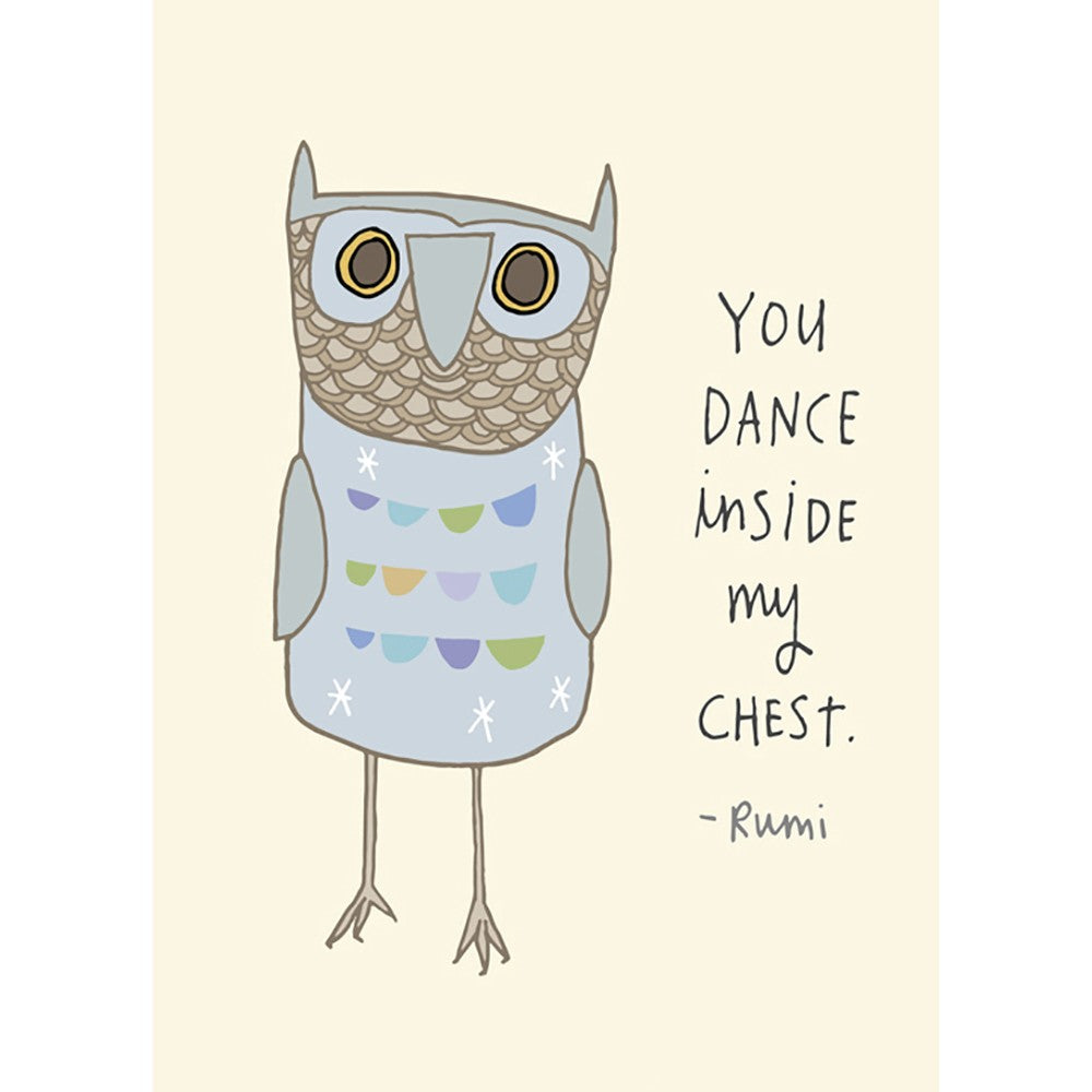 You Dance Love Greeting Card 6 pack