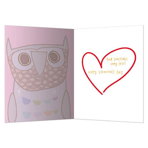You Dance Valentine Valentine's Day Greeting Card 4 pack